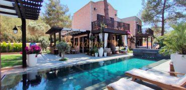 Bodrum'da Yeni Lüx Havuzlu Villa Projesi