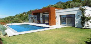Bodrum Yalıkavak Deniz Manzaralı Havuzlu Villa